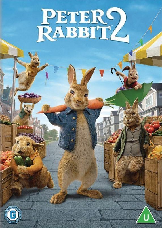 Nýr mynddiskur - Peter Rabbit 2